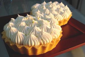 Mini Torta de limão sem lactose
